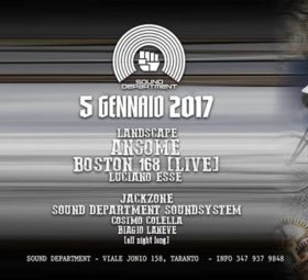 Ansome+Boston 168 live