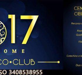WELCOME 2017 @Oblò Disco club