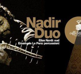 Nadir Duo Ethno Jazz @Cibo per la mente