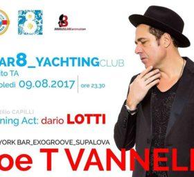 Joe T Vannelli @Bar8_Yachting club
