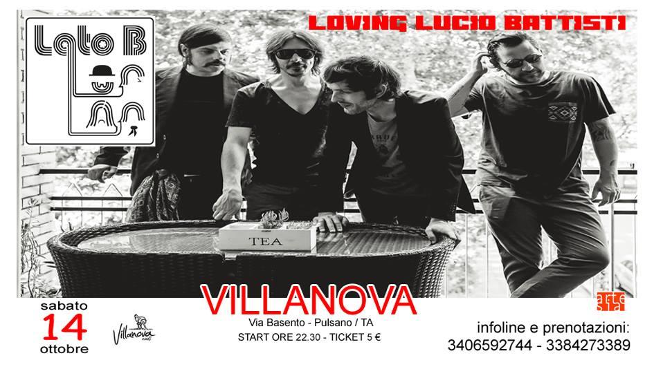 Lato B in concerto - il canzoniere di Lucio Battisti in tour @Villanova