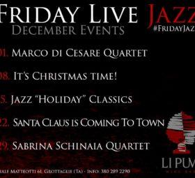 Sabrina Schinaia in concert @Li Pumi wine bar - Grottaglie -Taranto