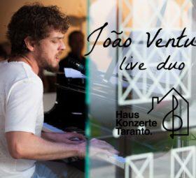 João Ventura live duo @Hauskonzerte - Taranto
