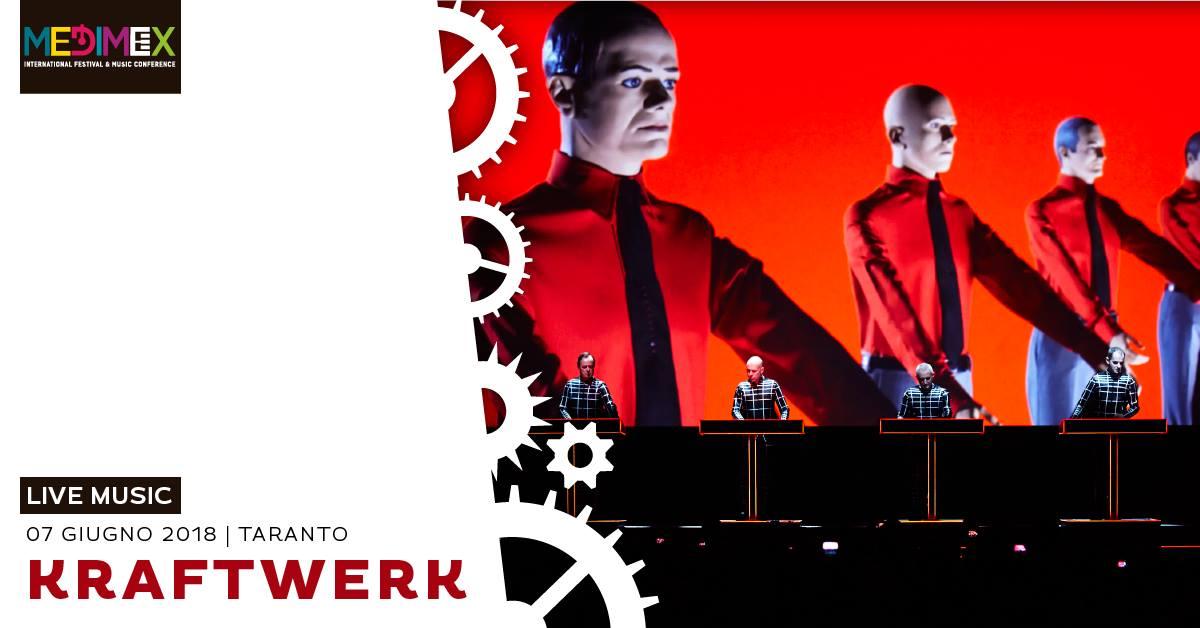 Kraftwerk [live 3D] @Medimex 2018