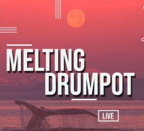 Melting Drumpot live - Beachbop