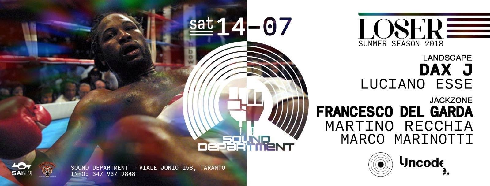 Dax J & Francesco Del Garda - Sound Department