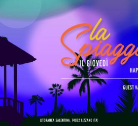 La Spiaggetta Club by night