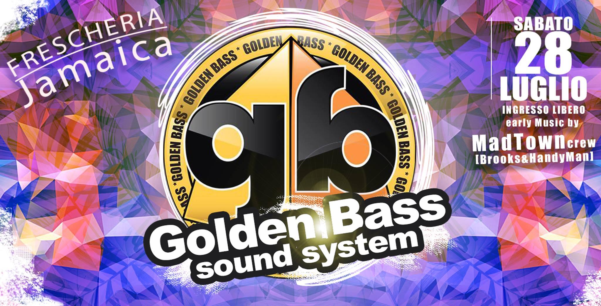 Golden Bass sound system alla Dancehall