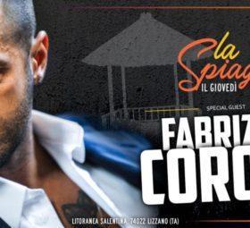 Fabrizio Corona @La Spiaggetta Club