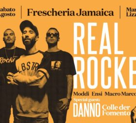Real Rockers + Danno @Frescheria Jamaica