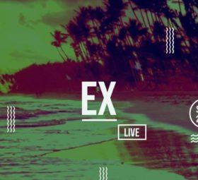 EX live at Beachbop