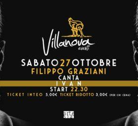 Filippo Graziani canta Ivan Graziani @Villanova